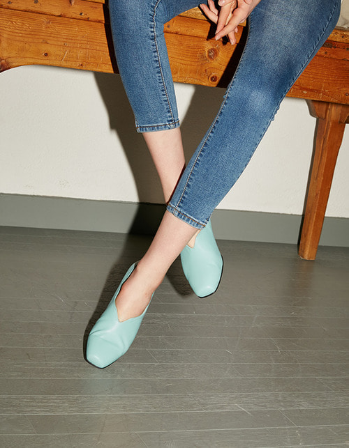 T001 v -loafer mint (2cm)
