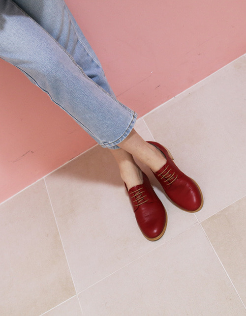 T009 island derby cherry red (2.5cm)