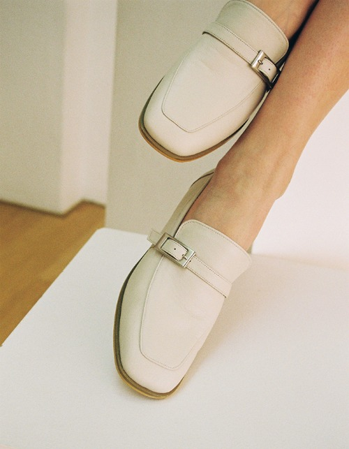 T103 buckle loafer cloudy ivory (2cm)